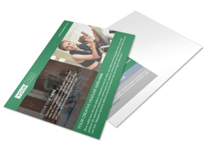 Family Wellness Center Postcard Template preview