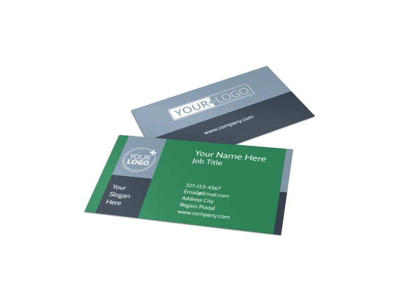 Family Wellness Center Business Card Template