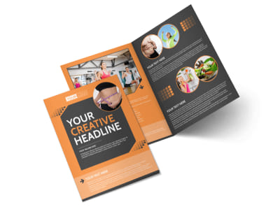 Get Lean Fitness Program Bi-Fold Brochure Template preview