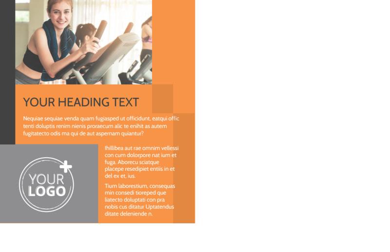 Get Lean Fitness Program Postcard Template Preview 3