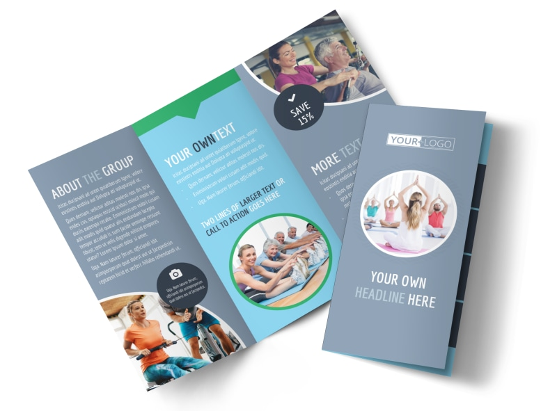 Family Gym Brochure Template  Mycreativeshop