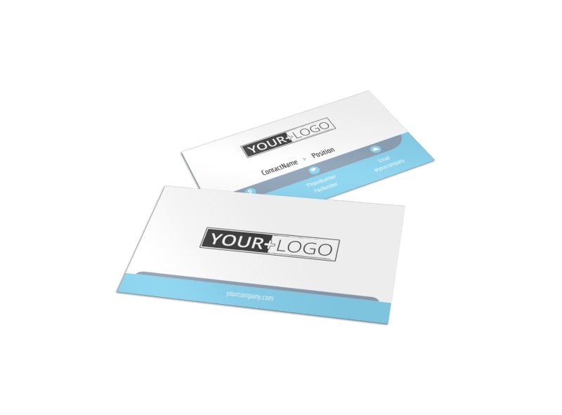 Family Gym Business Card Template