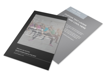 Wellness Center Flyer Template