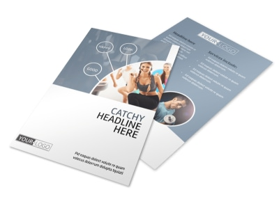 Get Fit Gym Flyer Template