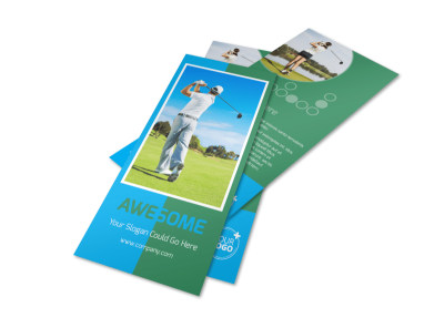 Popular Golf Tournament Flyer Template preview