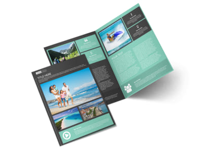 Guided Vacations Bi-Fold Brochure Template