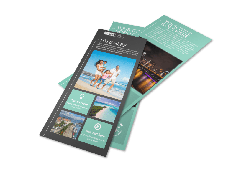 Guided Vacations Flyer Template Preview 1