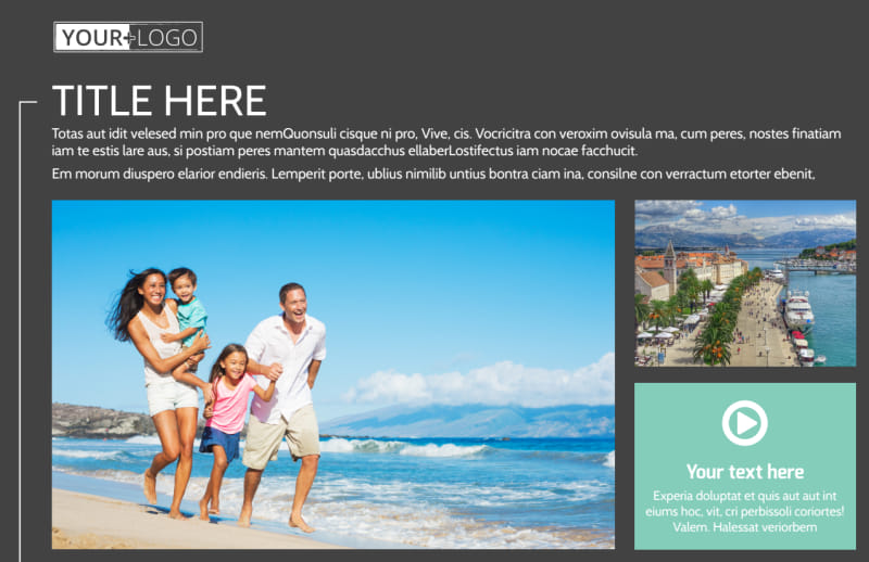 Guided Vacations Postcard Template Preview 2