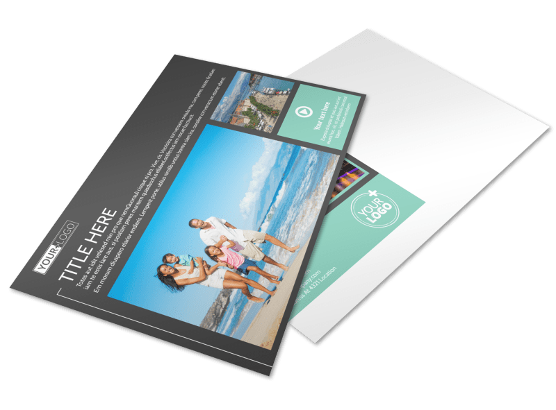 Guided Vacations Postcard Template Preview 1