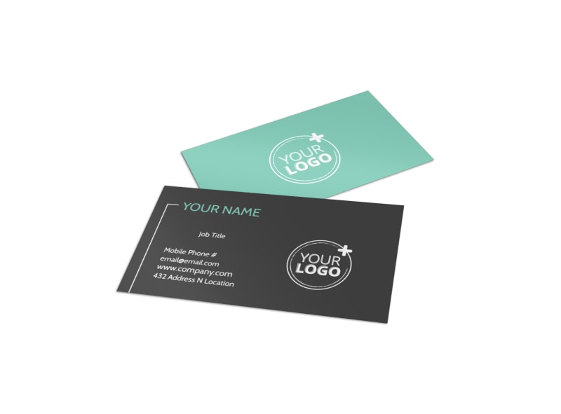 Guided Vacations Business Card Template