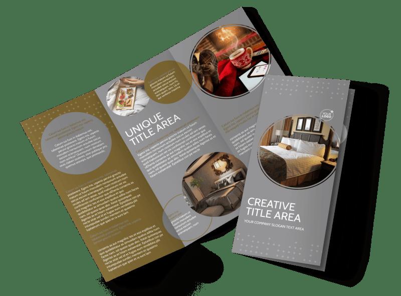 Elegant Bed & Breakfast Brochure Template Preview 1