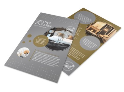 Elegant Bed & Breakfast Flyer Template