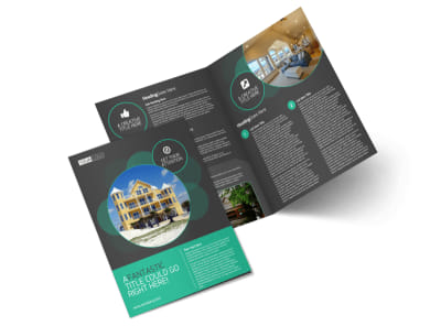 Vacation Home Rental Brochure Template MyCreativeShop - Brochures template