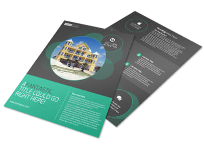 Vacation Home Rental Flyer Template