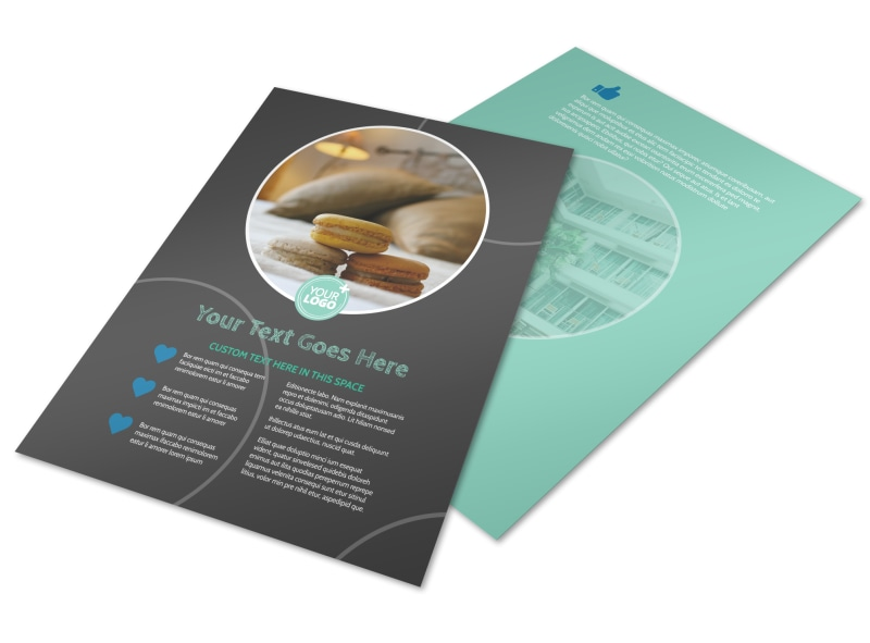 Hotel & Lodging Flyer Template