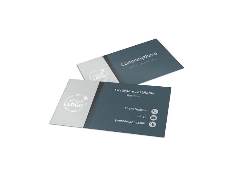 Bus Tours Business Card Template