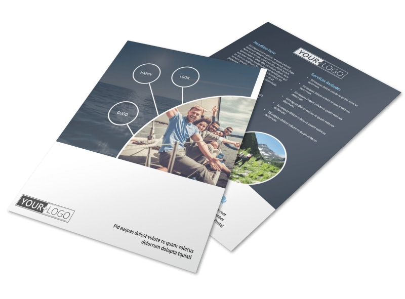Adventure Guided Tours Flyer Template