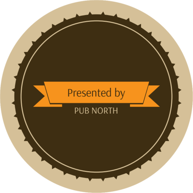 Pub North Beer Festival Coaster Template Preview 3