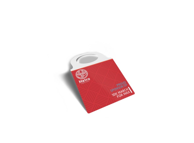 10k Sponsored Race Bottle Tag Template