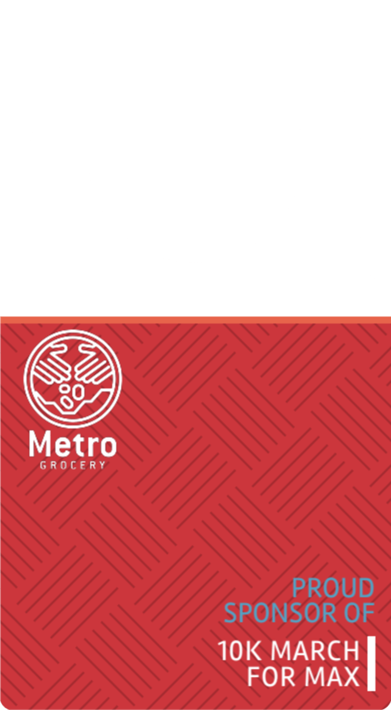 10k Sponsored Race Bottle Tag Template Preview 2