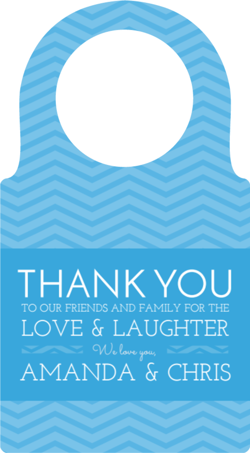 Wedding Thank You Bottle Tag Template Preview 2