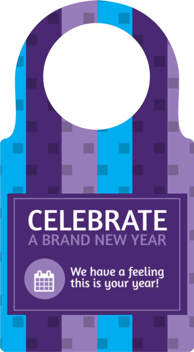 New Years Party Bottle Tag Template Preview 2