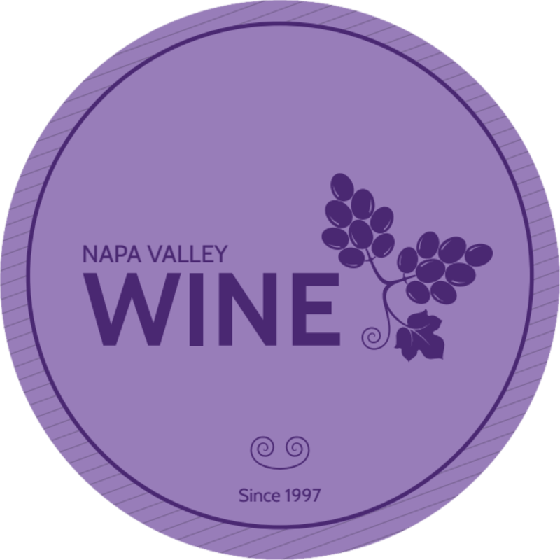 Napa Valley Wine Coaster Template Preview 3