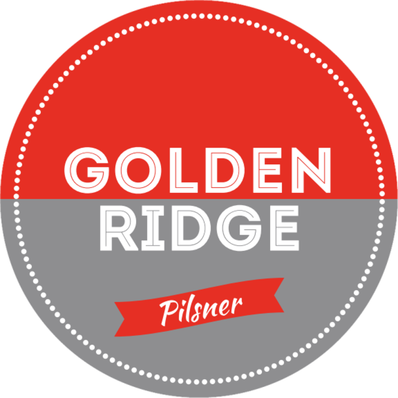 Golden Ridge Beer Coaster Template Preview 2