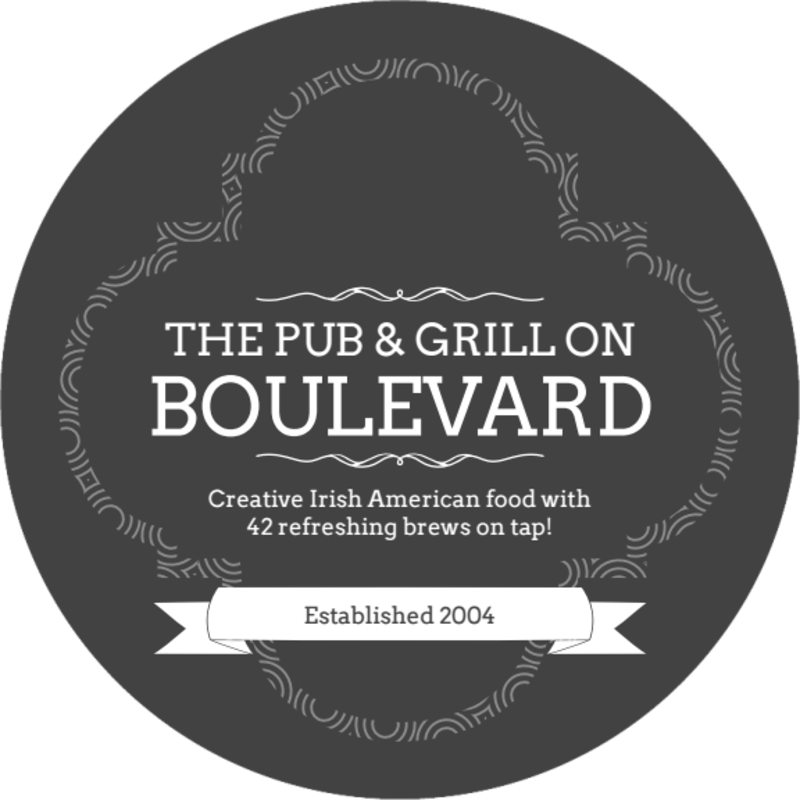 Boulevard Pub & Grill Coaster Template Preview 2