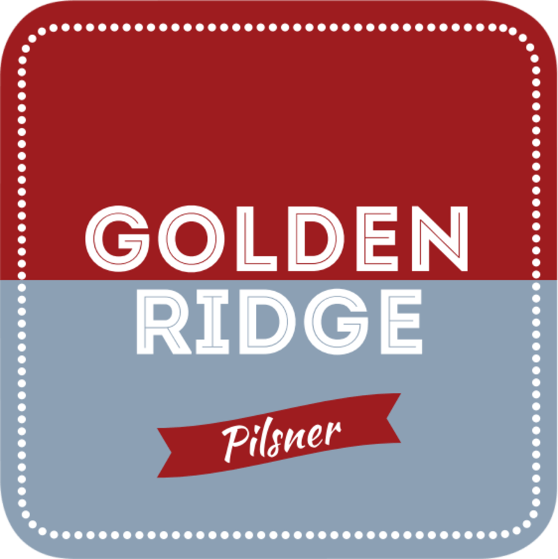 Golden Ridge Beer Coaster Template Preview 2