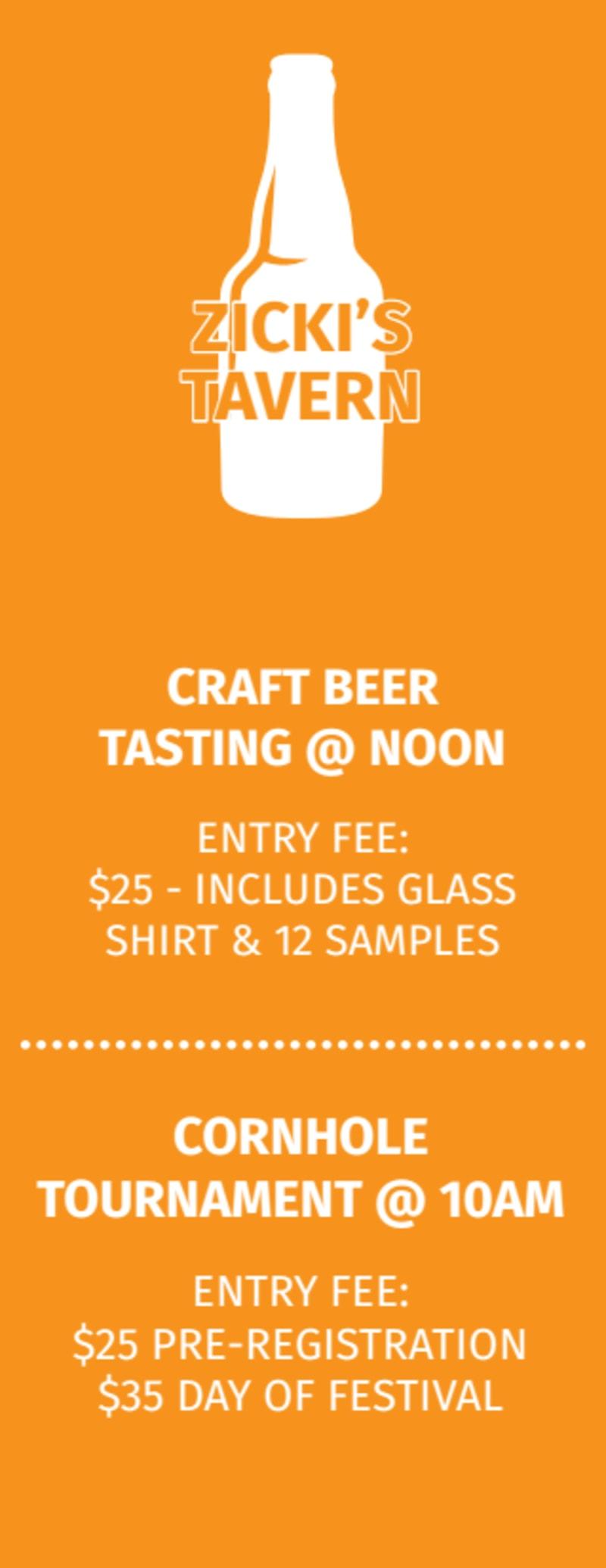 Fargo Beer Festival Ticket Template Preview 3