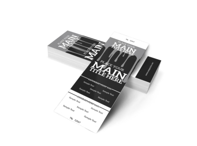 Generic Ticket Template 16010