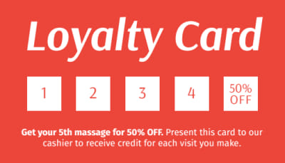 Massage Loyalty Card Template Preview 1