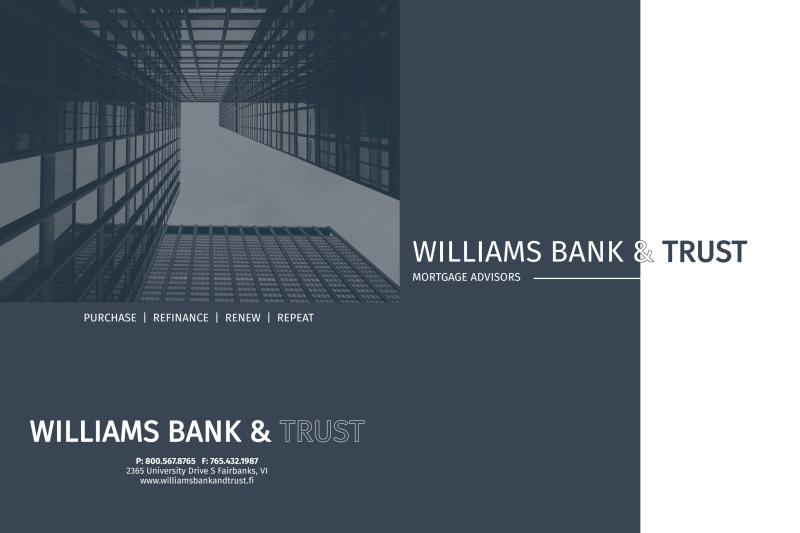 Bank & Trust Pocket Folder Template Preview 2