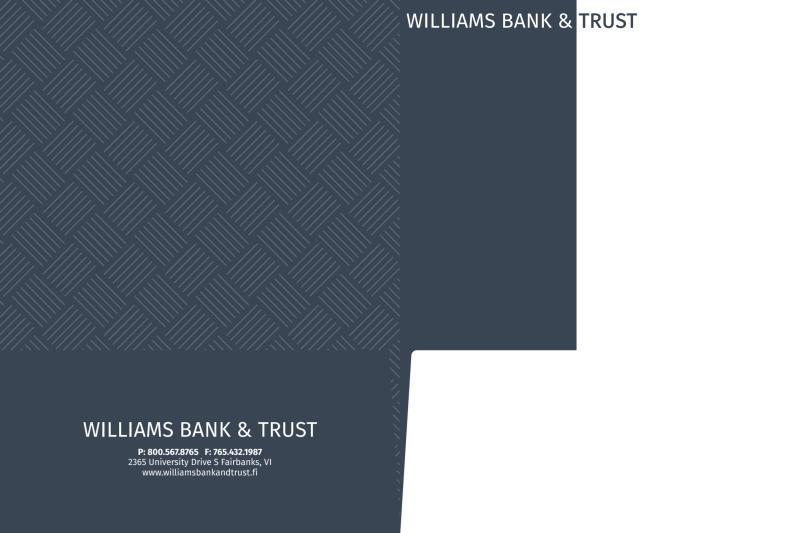 Bank & Trust Pocket Folder Template Preview 3