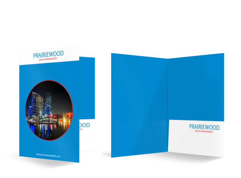 Prairiewood Wealth Management Bi-Fold Pocket Folder Template