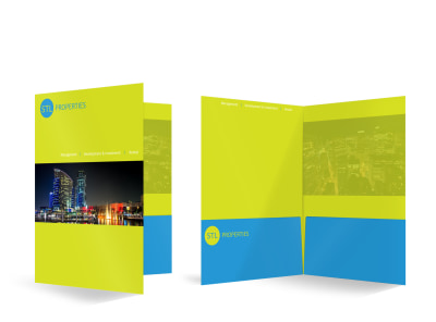 STL Properties Bi-Fold Pocket Folder Template