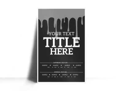 Generic Poster Template 16091 preview
