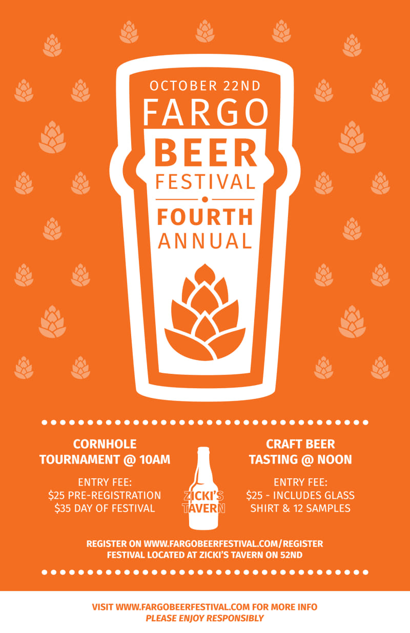 October Beer Festival Poster Template Preview 2