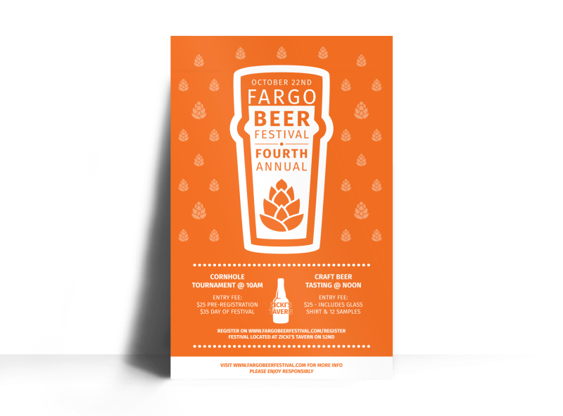 October Beer Festival Poster Template Preview 1