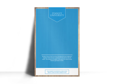 Career Fair Poster Template