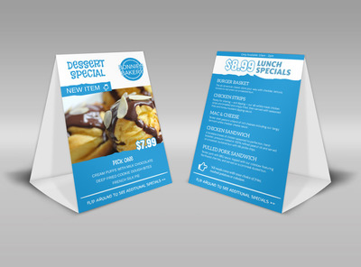 Generic Table Tent Template 16110
