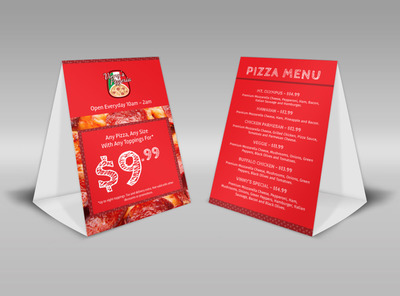 Generic Table Tent Template 16116