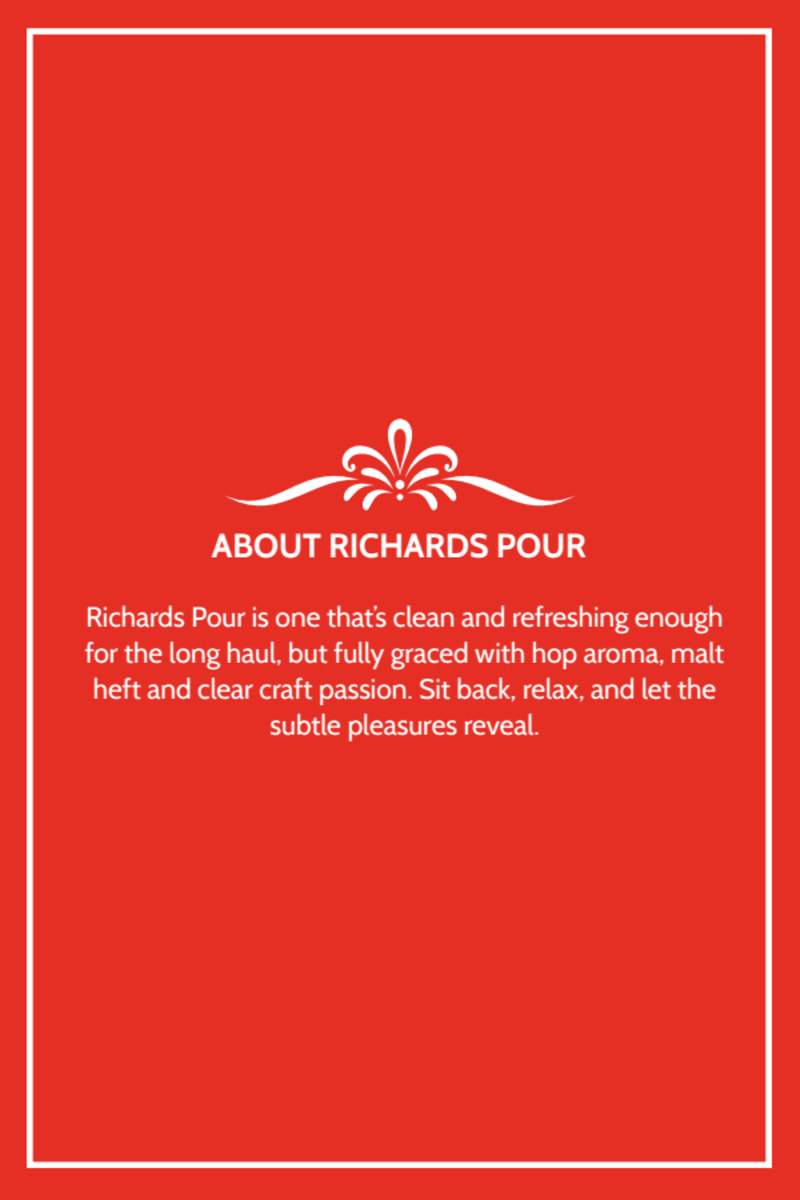 Richards Pour Beer Table Tent Template Preview 3