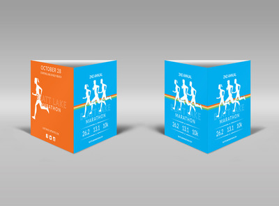 Blatt Lake Marathon Table Talker Template