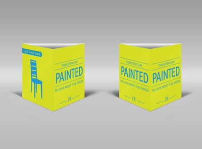 Painted Theater Show Table Talker Template
