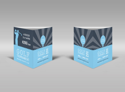 Generic Table Tent Template 16139