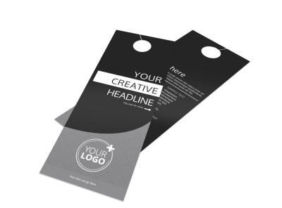 Generic Door Hanger Template 16161