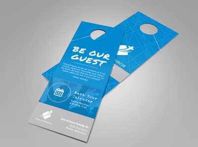 Grace Church Outreach Doorhanger Template