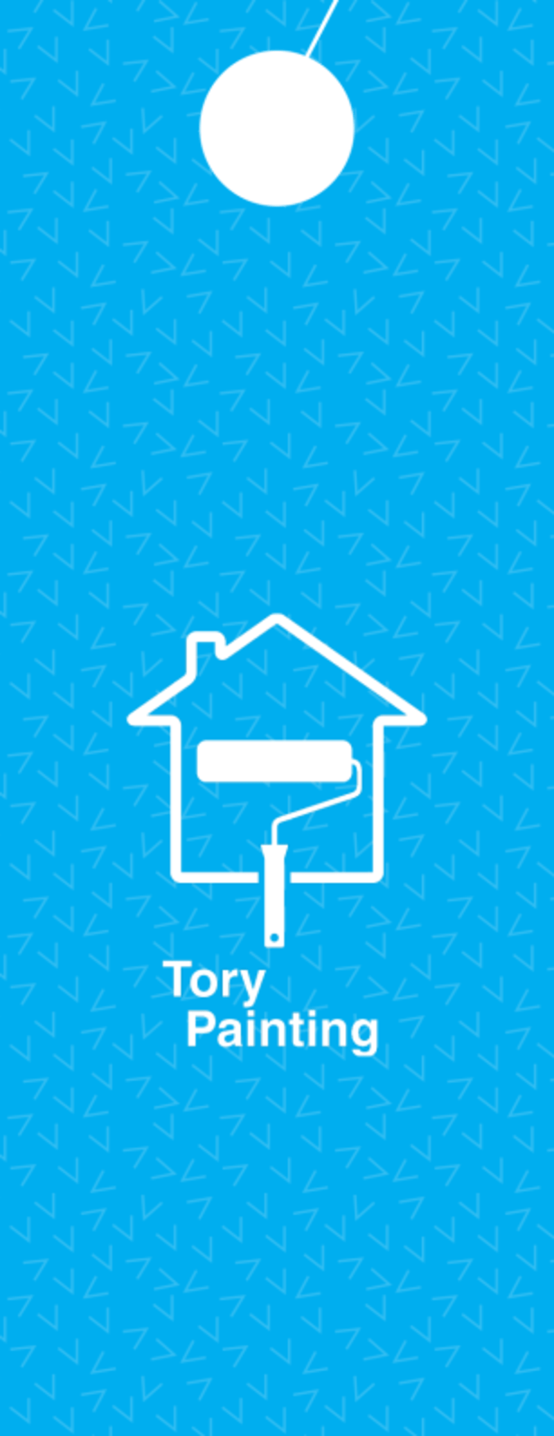 Tory Painting Discount Door Hanger Template Preview 3